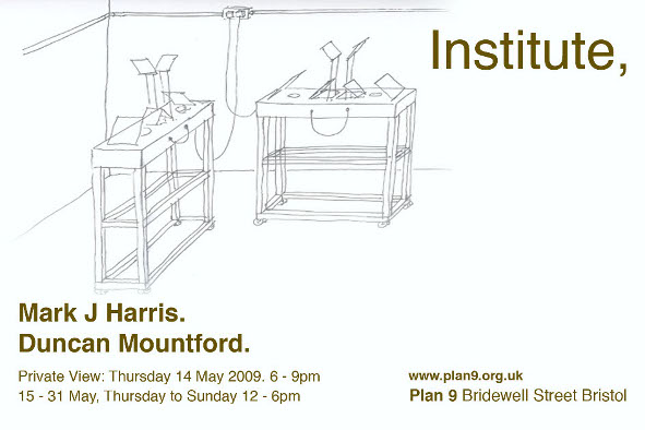 Institute - Mark Harris and Duncan Mountford